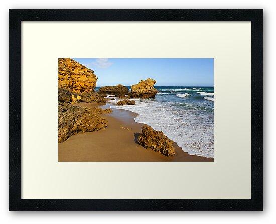 Coastline at Torquay by Darren Stones