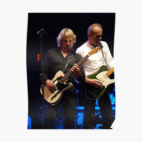 Status Quo 5 English Boogie Rock Band Poster Music Star Photo Rossi On Stage