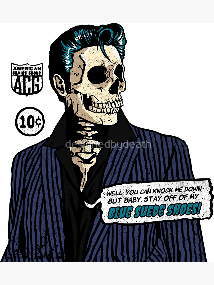 The King Ain't Dead! by designedbydeath