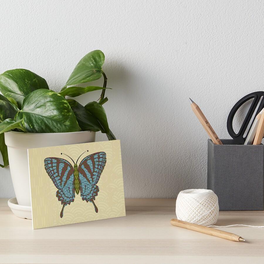 Japanese Swallowtail Art Board Print