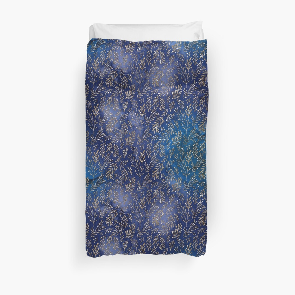Meerjungfrau Glitter Print Design Bettbezug