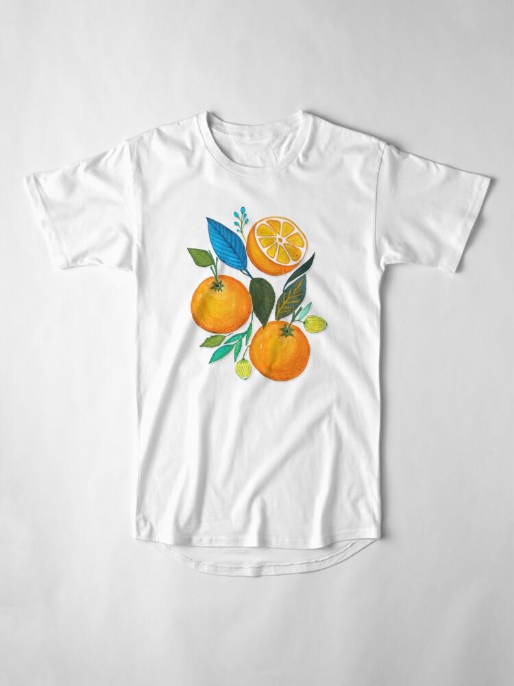 Vista alternativa de Camiseta larga Lady Orange