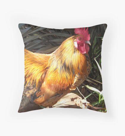 Farm talk - Artemis in glorious colour Throw Pillow