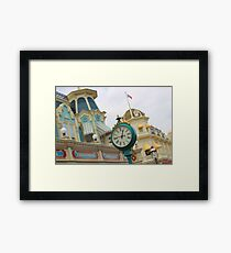 Main Street Framed Print