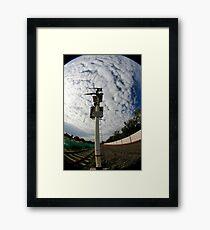 Signal Framed Print