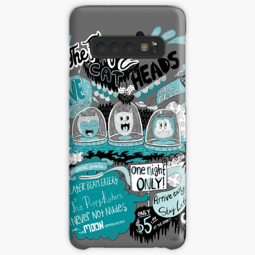 THE FROZEN CAT HEADS - LIVE!  Case & Skin for Samsung Galaxy