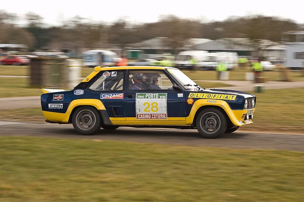 Fiat 131 Abarth Rallye by Willie Jackson
