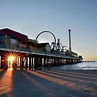 Winter Morning at Pleasure Pier by EmmaLeigh