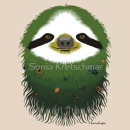 TShirtGifter presents: Sloth buggy - green