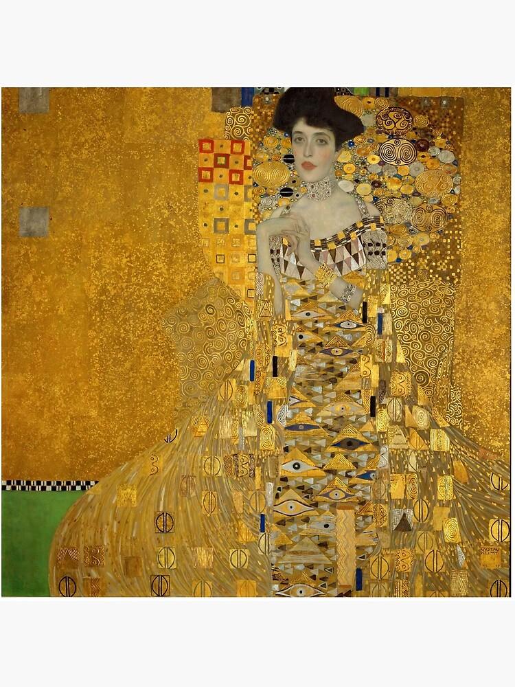 Adele Bloch-bauer I by Gustav Klimt by ArgosDesigns