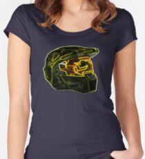 Neon Halo Women's Fitted Scoop T-Shirt