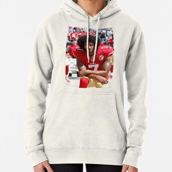 "Colin Kaepernick 49ers /""Sacrifice/"" Hooded Sweatshirt United We Stand Knee"