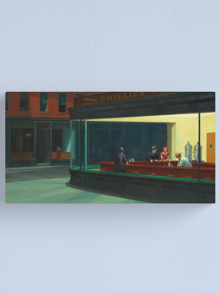 Alternate view of Nighthawks Canvas Print
