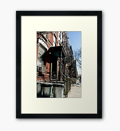 Everyday life 01 Framed Print