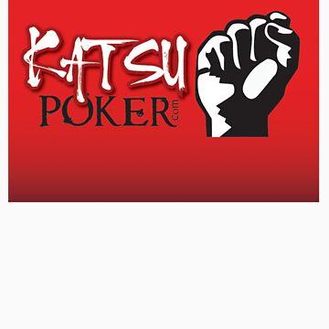 Katsu Logo v6 red by BeachHutMedia