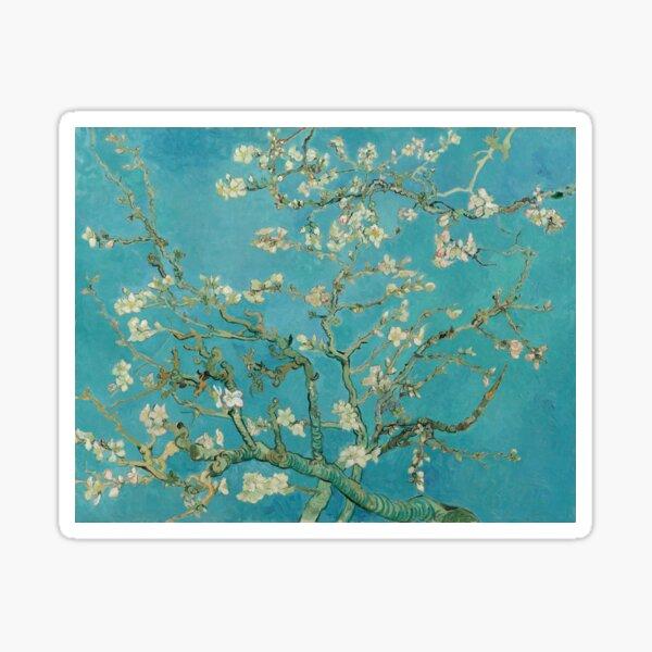 Van Gogh Blossoming Almond Tree Sticker
