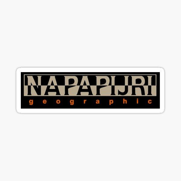 Géographie Napapijri Sticker