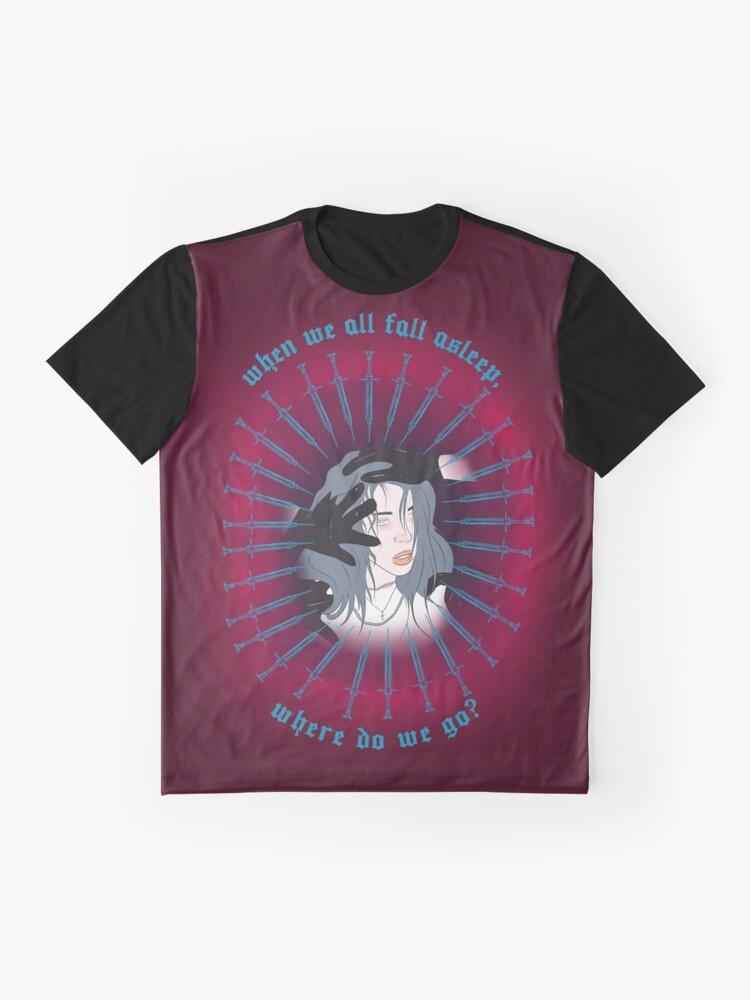 Alternative Ansicht von Wohin gehen wir? Grafik T-Shirt