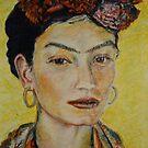 Model, after Frida Kahlo by Saskia Cox-Steenbergh