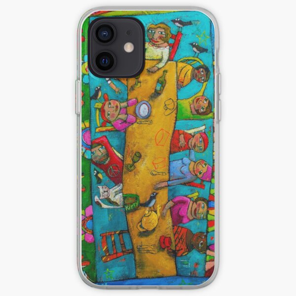 Long, long crazy lunch iPhone Soft Case