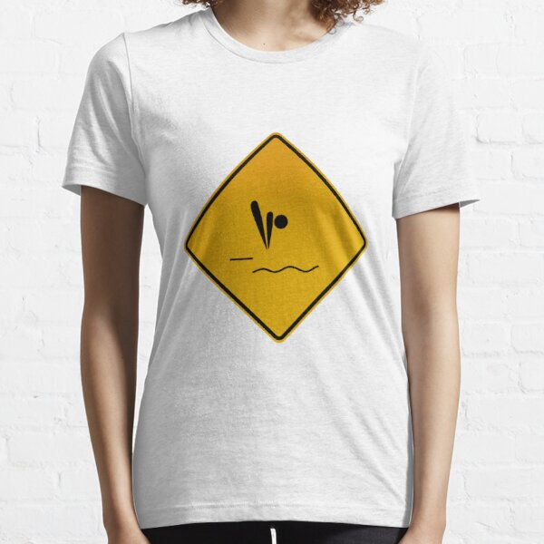 Diving - Warning Sign Essential T-Shirt