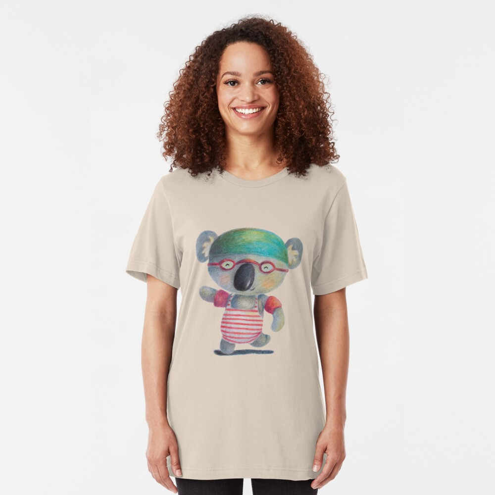 Swimming Time Slim Fit T-Shirt