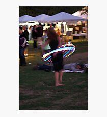 Hula Hoop Photographic Print