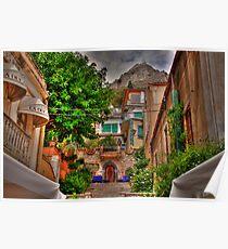Sicilian cul de sac Poster