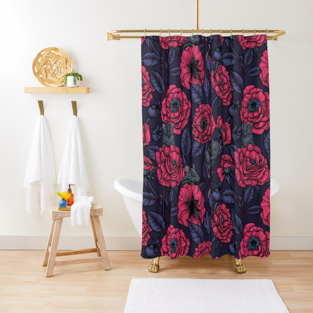 The mice party Shower Curtain