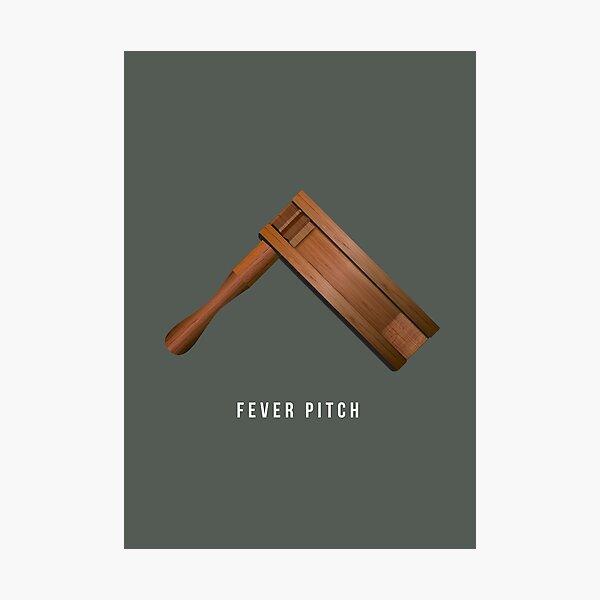 Fever Pitch - Alternative Movie Poster Photographic Print
