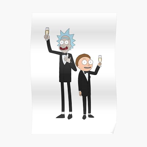 Formal Rick and Morty™ Poster
