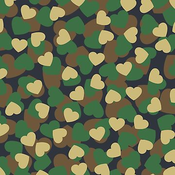 Heart Camo WOODLAND by GrandeDuc