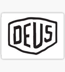Deus Sticker