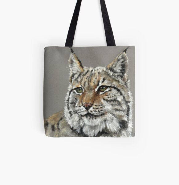 Lynx All Over Print Tote Bag