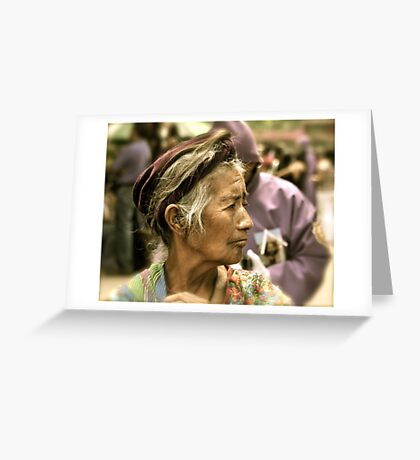 Relaxed Elegance Greeting Card