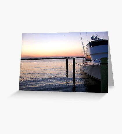 Bay Greeting Card