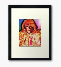 Opel and clowns and jugglers. Framed Print