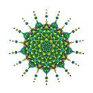 Colorful Mandala by Ken Humphreys