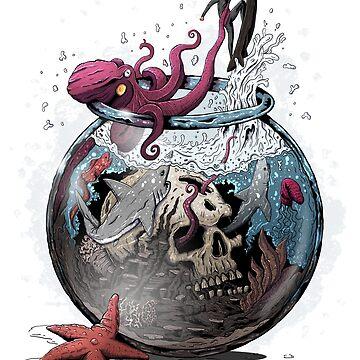 Escape from the aquarium by zsoltbaritz