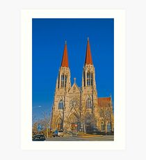 The Cathedral of St. Helena Art Print