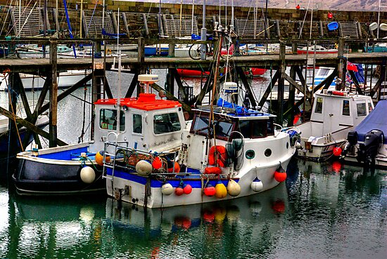 The Harbour #2 by Trevor Kersley