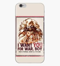 I Want YOU for WAR, BOY (dark colors) iPhone Case