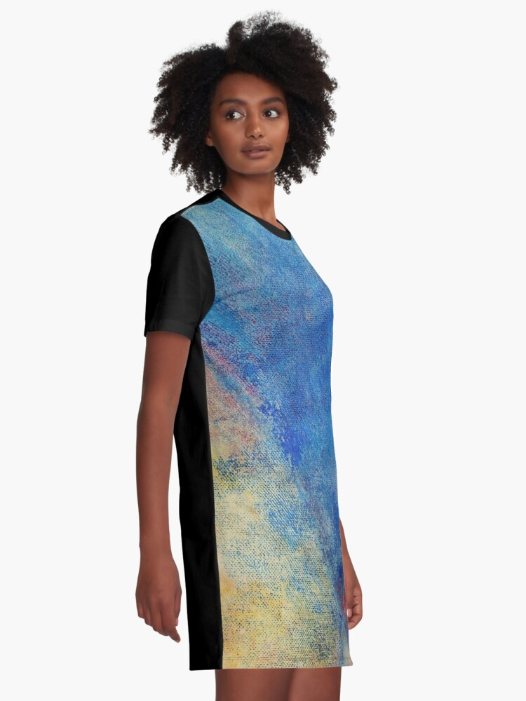 Alternate view of Whimsy #3 Graphic T-Shirt Dress