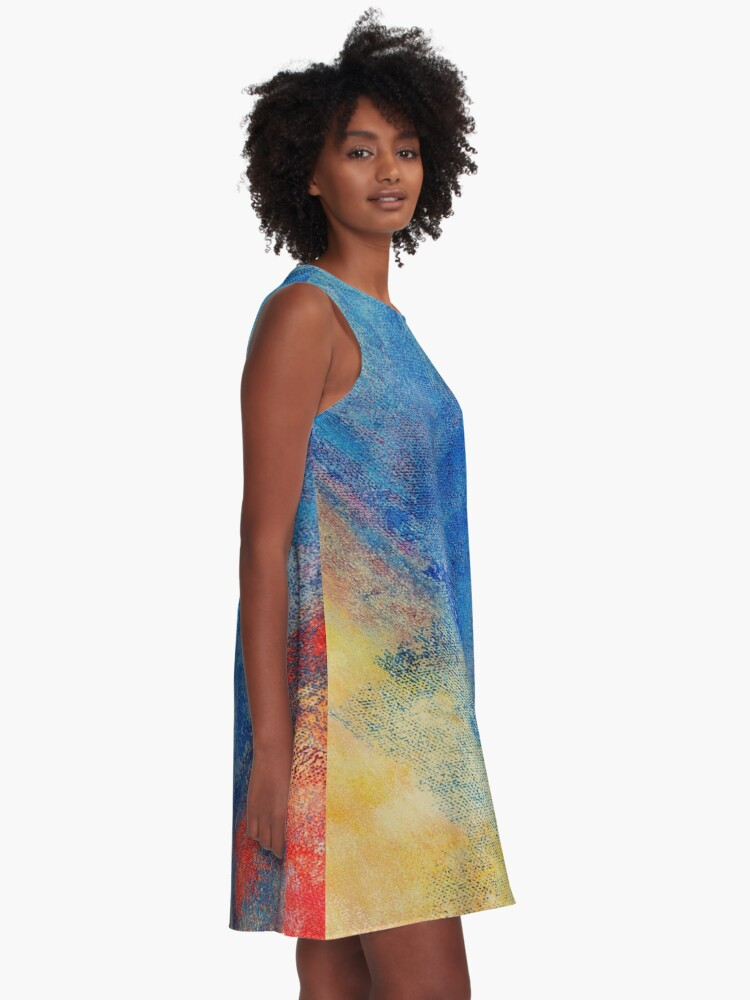 Alternate view of Whimsy #3 A-Line Dress