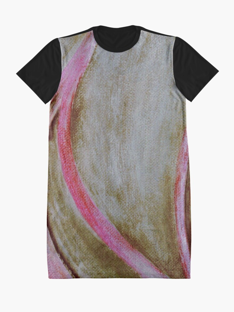 Alternate view of Whimsy #2 Graphic T-Shirt Dress