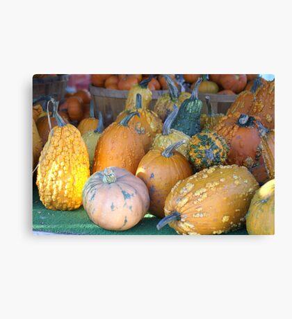 Mutated Pumpkins Canvas Print