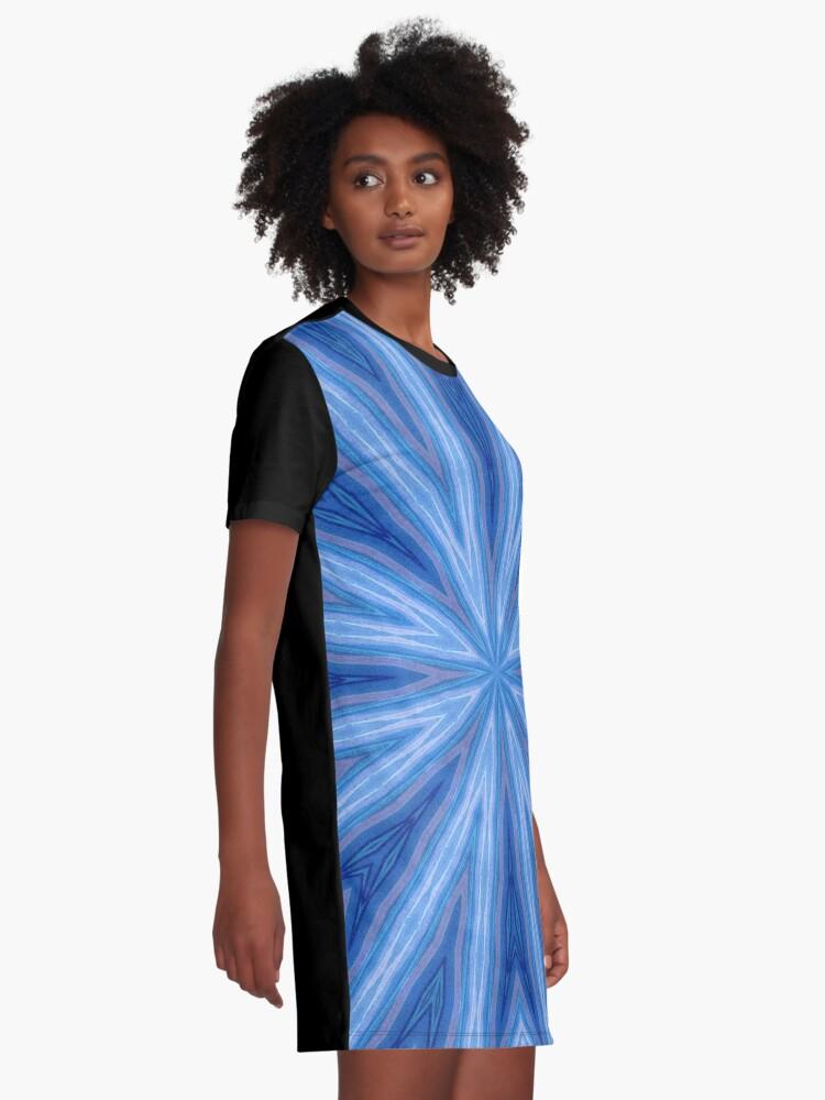 Alternate view of Vortex #3 Graphic T-Shirt Dress