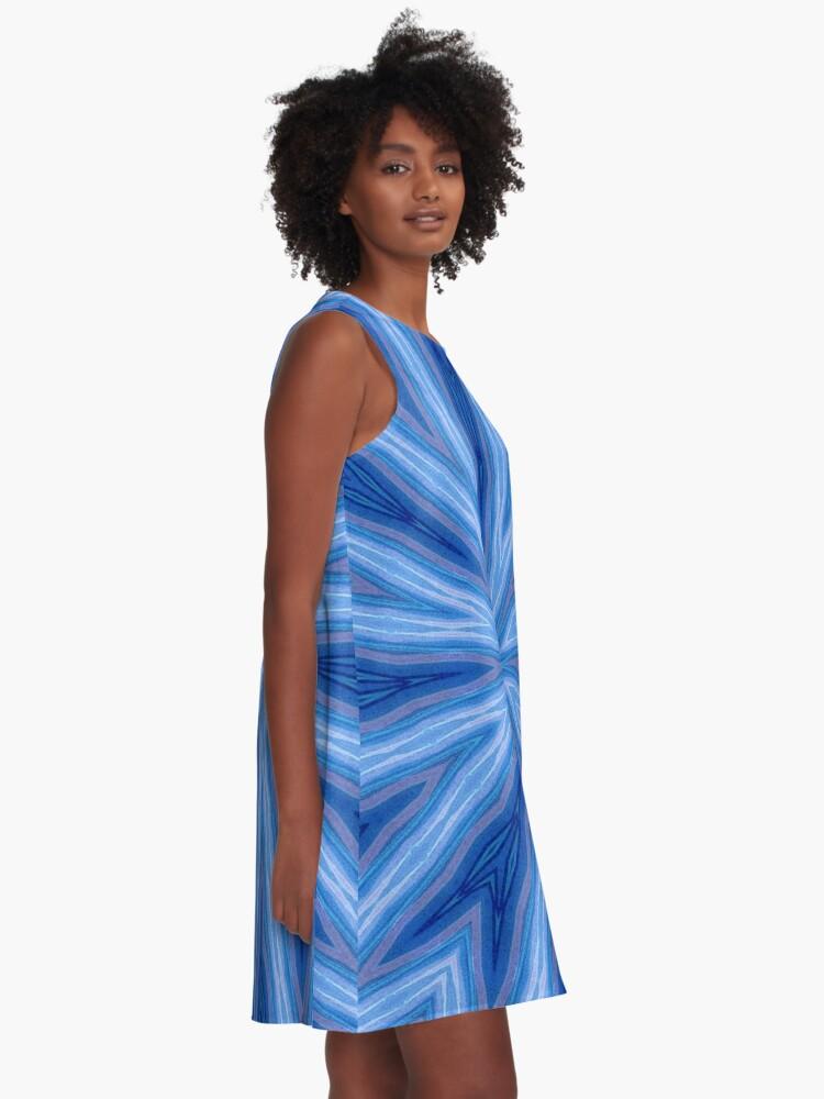 Alternate view of Vortex #3 A-Line Dress