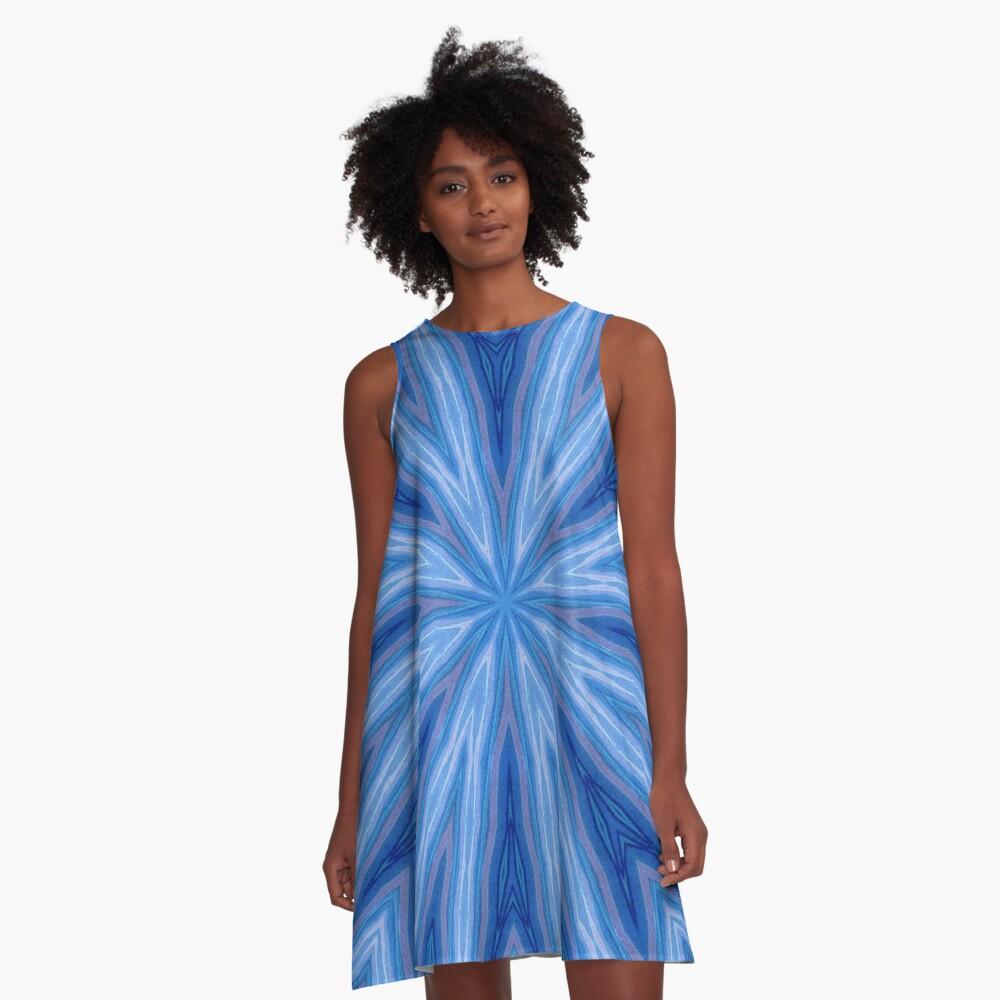 Vortex #3 A-Line Dress