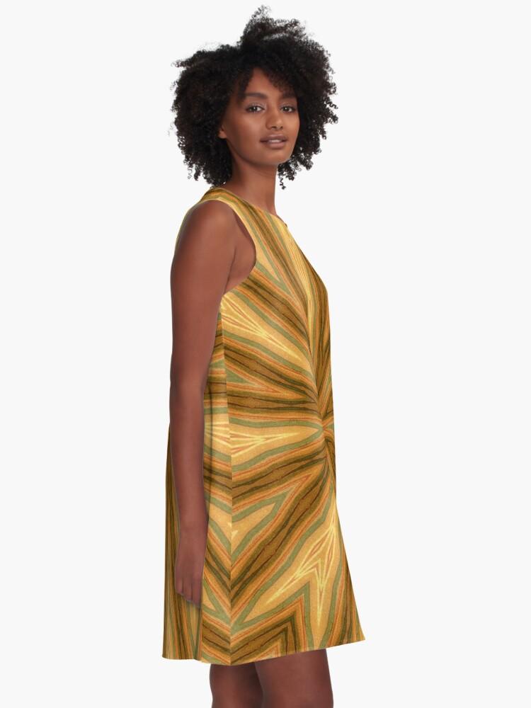 Alternate view of Vortex #2 A-Line Dress